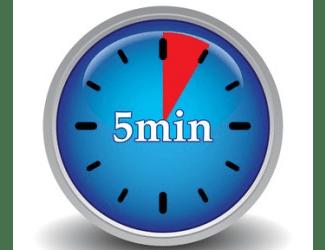 Avanza con constancia hacia tu objetivo: acción de 5 minutos